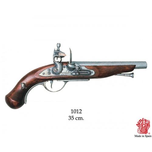 Pistola pirata Francia XVIII sec.