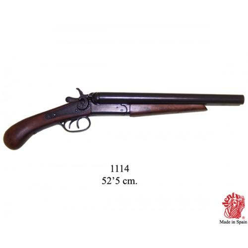 Pistola 2 canne USA 1881