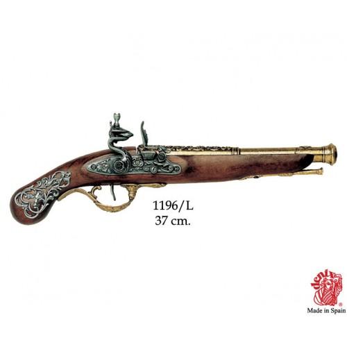 Pistola Inglese, XVIII secolo.