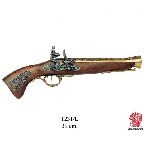 Pistola a trabucco Austria XVIII secolo.