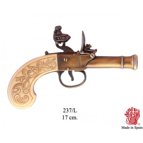 Pistola Inglese fabbricata nel XVIII secolo