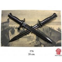 Panoplia con baionette