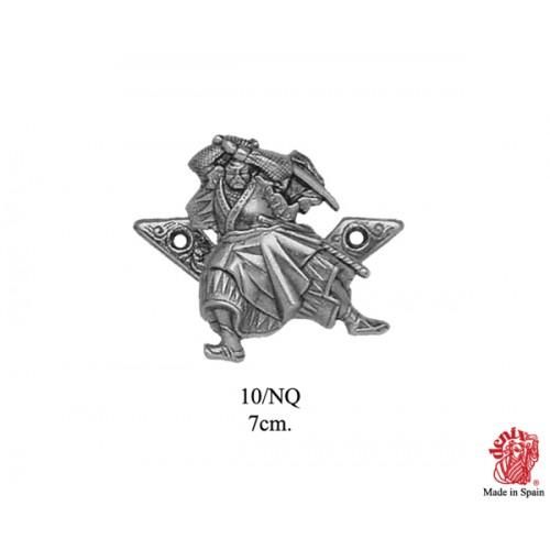 Supporto per katana Samurai argento