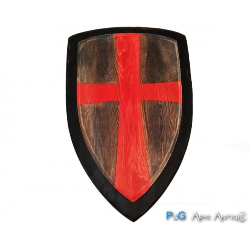 Scudo in legno croce