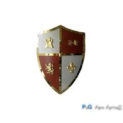 Scudo medievale medio