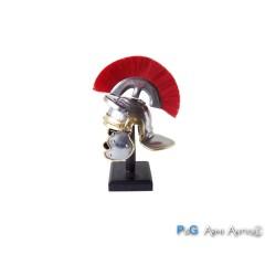Mini elmo romano con cresta