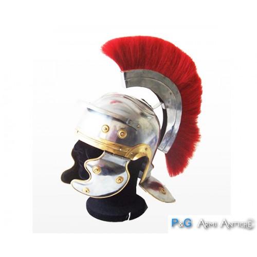 Elmo romano con cresta