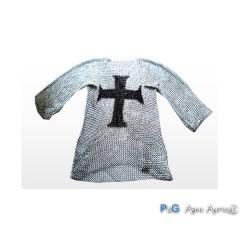 Cotta in metallo con croce