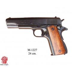 Pistolta Colt 1911 impugnatura in legno
