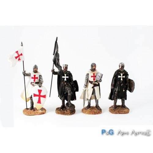 Soldatini in resina Crociati