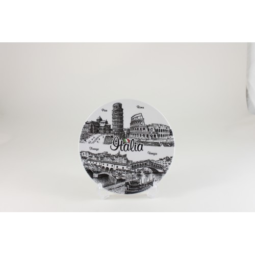 Piatto ceramica cm. 15