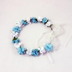 Coroncine Azzurro/Bianco