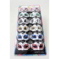 Set Magnete Maschera in resina