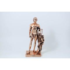 """Statua Dio """"Apollo"""" rame 29cm"""