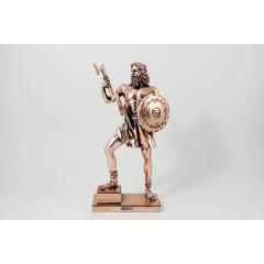 "Statua ""Zeus"" rame 30 cm"