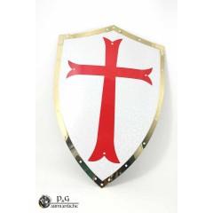 Scudo medioevale in metallo
