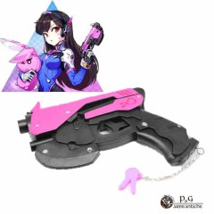 PISTOLA OVERWATCH IN FOAM ROSA