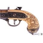 Pistola Italiana con 3 canne,fabbricata nel 1680